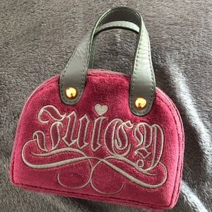 Juicy Couture Velour Mini Travel Jewelry Case